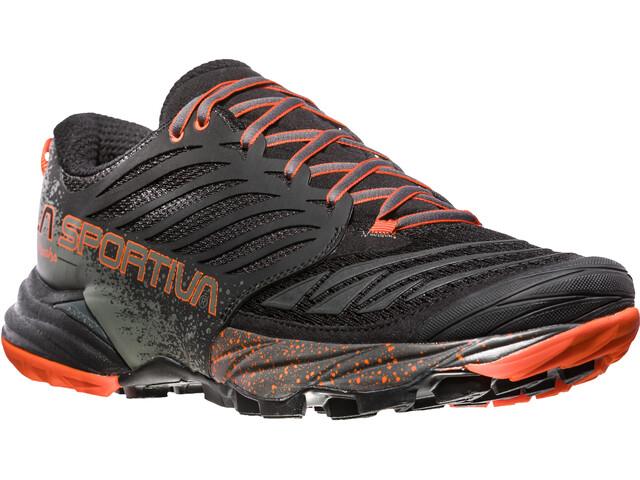 71b8761833a ... Zapatillas trail running; La Sportiva Akasha Zapatillas running Hombre,  black/tangerine. La ...